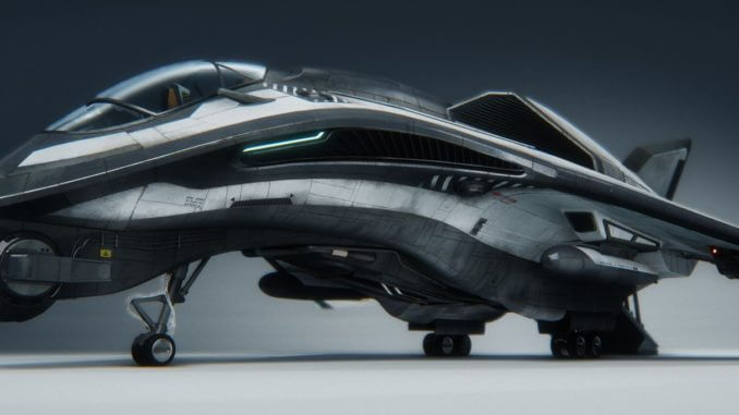 Star Citizen Smuggler Ship Avenger