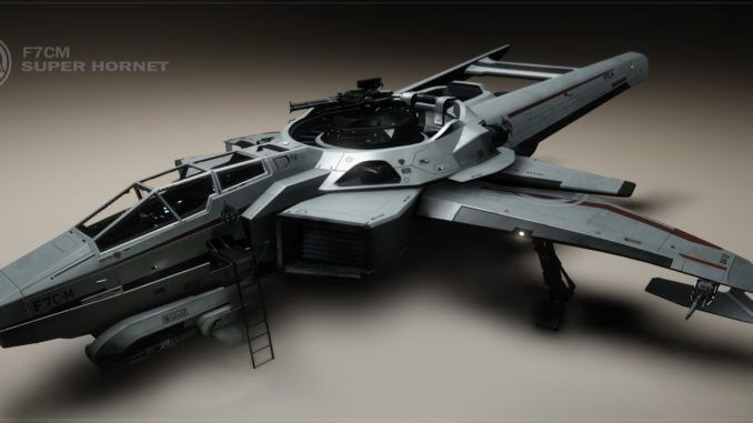 Star Citizen Super Hornet