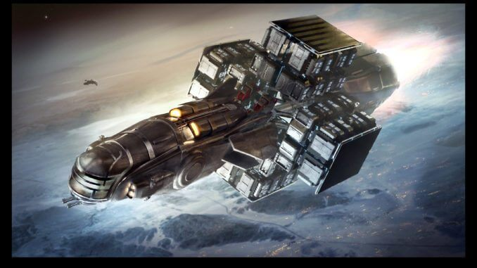 Star Citizen Smuggler Ship Hull Series