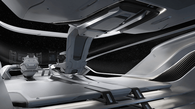 The Star Citizen Origin 600i review from the cockpit.