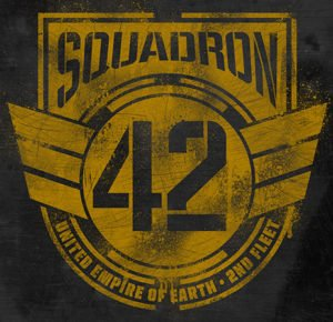 The logo of the elite 42nd Squadron.