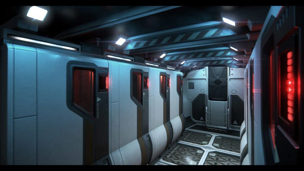 Star Citizen Avenger Stalker cargo area.