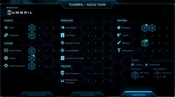 Nova Vehicle Specification