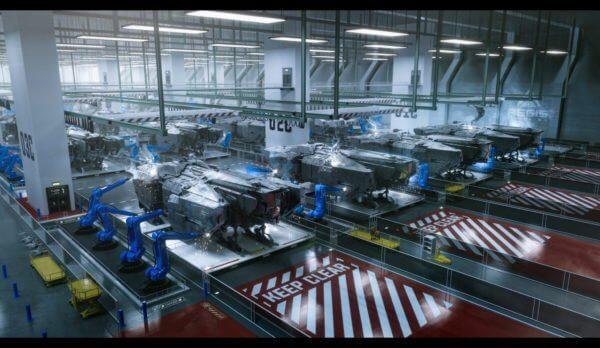 AEGIS Vulcan Shop Floor