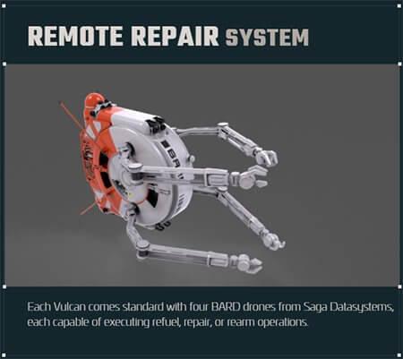Vulcan BARD Repair Drone