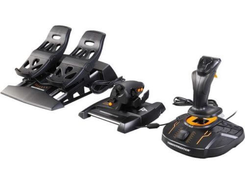 Thrustmaster T.16000M FCS Flight Pack The Best HOTAS and Pedal Combo