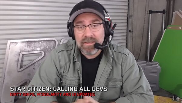 Star Citizen: Calling All Devs - Dirty Ships, Modularity & UI Updates