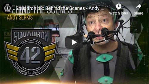 Behind the Scenes Andy Serkis