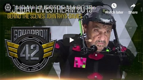 Behind the Scenes Jogn Rhys-Davies
