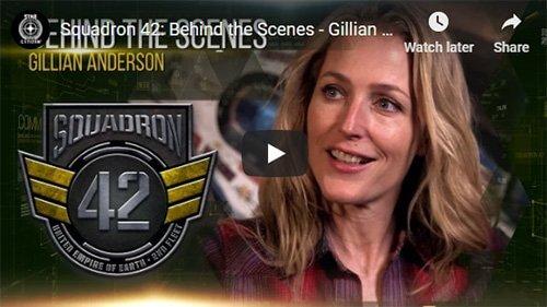 Behind the Scenes Gillian Anderson