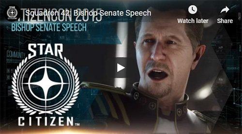 Bishop Senate Speech