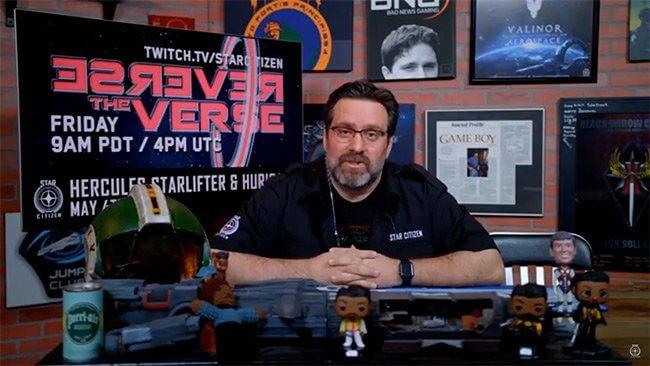 Star Citizen Reverse the Verse LIVE - Hercules Starlifter & Anvil Hurricane