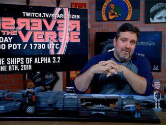 Star Citizen: Reverse the Verse LIVE - Ships of Alpha 3.2