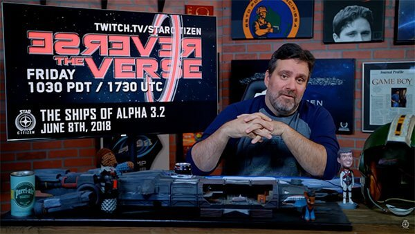 Star Citizen: Reverse the Verse LIVE - Ships of Alpha 3.2